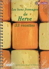 Couverture Les bons fromages de Herve : 33 recettes