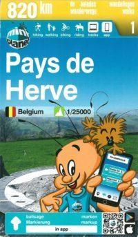 Couverture Carte du Pays de Herve 'Mini Ardenne
