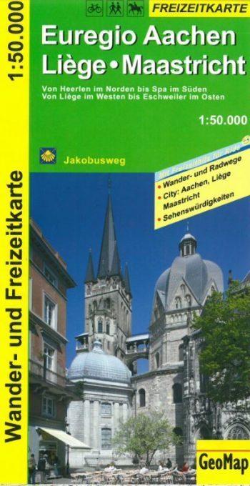 Couverture Carte Euregio Aachen-Liège-Maastricht