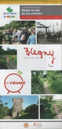 Couverture Carte de promenades de la commune de Blegny