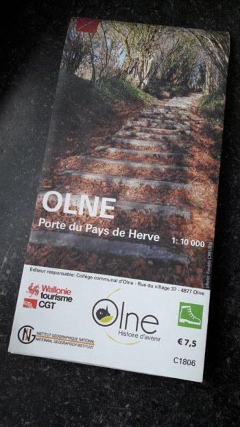 Couverture Olne : 11 promenades balisées