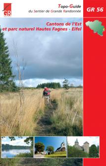 Couverture GR 56 - Cantons de l'Est et parc naturel Hautes Fagnes-Eifel