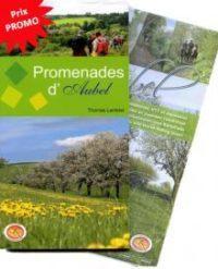 Couverture Promenades d'Aubel : livre + carte IGN