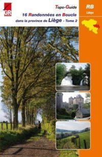 Couverture 16 Randonnées en boucle dans le province de Liège - Tome 2