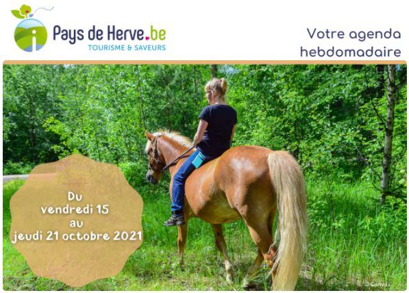 Activités au Pays de Herve du vendredi 15 au jeudi 21 octobre 2021